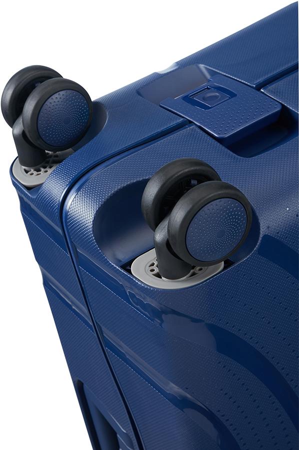 4f60f5830b1 American Tourister Lock'n'Roll Spinner (4 wielen) 55cm Nocturne Blue ...
