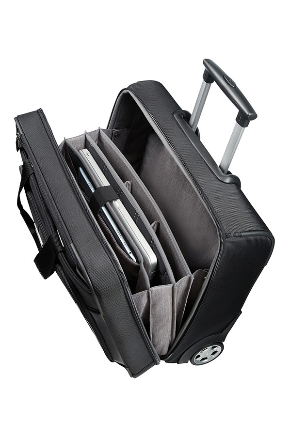 63d17340d2 XBR Business Case with Wheels 39.6cm 15.6inch Black